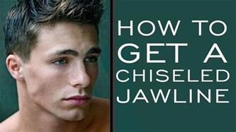 haircut to make strong jaw how to have a chiseled jawline 5 tips for stronger