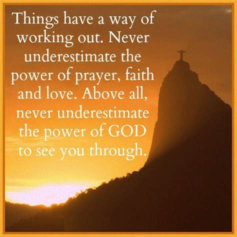 the power of prayingâ through fear prayer and study guide books power of prayer quotes quotesgram