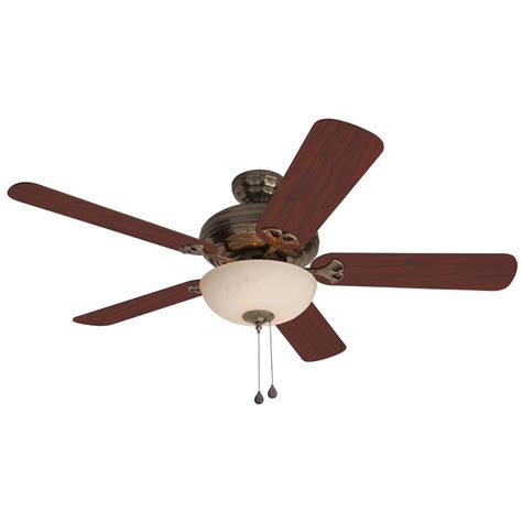 Caribbean Ceiling Fan by Shop Harbor 52 In Sandoval Caribbean Brass Ceiling