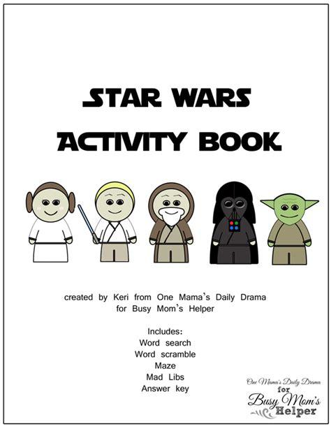 printable star wars activity book star wars printable activity book busy moms helper
