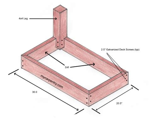 deck bench dimensions daily wood job here deck bench seat plans