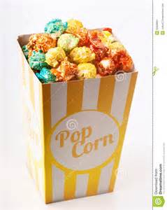 colorful popcorn colored popcorn stock image image 32929961