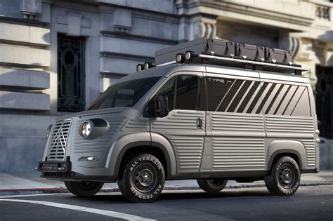 Citroen Vans by Citroen Relay Transformed Into Retrotastic H By Car