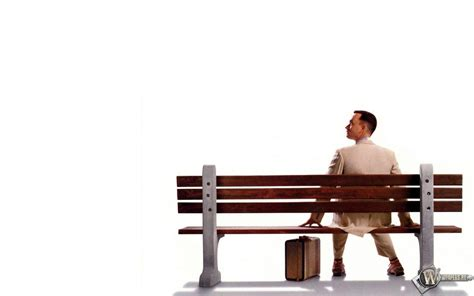 forrest gump on bench forrest gump wallpapers wallpaper cave