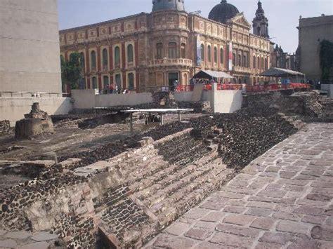 imagenes de templos aztecas templo mayor azteca 7 picture of mexico city central