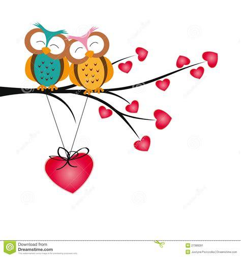 imagenes de corazones infartados buhos y corazones ilustraci 243 n del vector ilustraci 243 n de