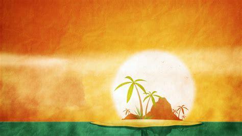 summer island backgrounds presnetation ppt backgrounds
