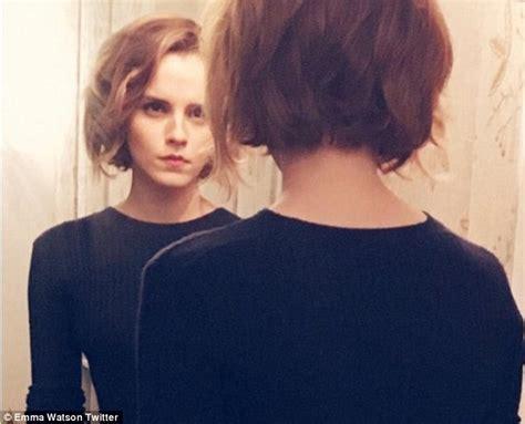 Emma Watson debuts newly cropped locks on Instagram after