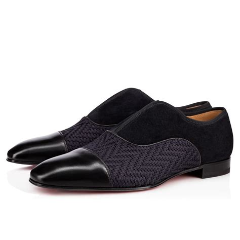 Shoes Rafifa alpha flat black navy rafia shoes christian