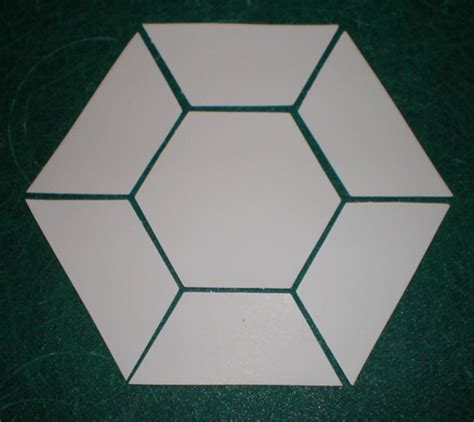 Hexagon Shapes For Quilting by Hexagon Shape Template