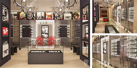 Luxurious Interior Denkuri Fashion Project Ray Ban