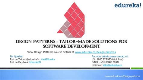 software design pattern names design patterns 1july