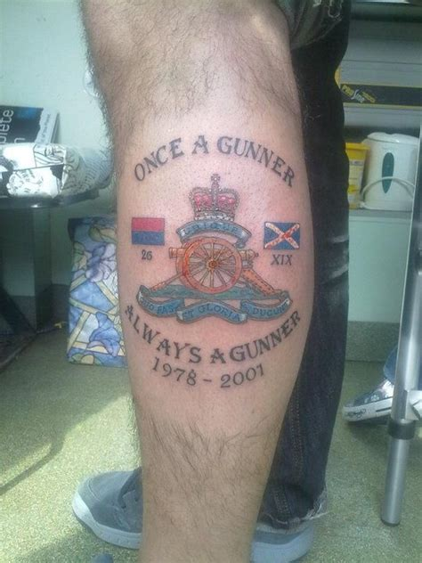 field artillery tattoos pictures to pin on pinterest