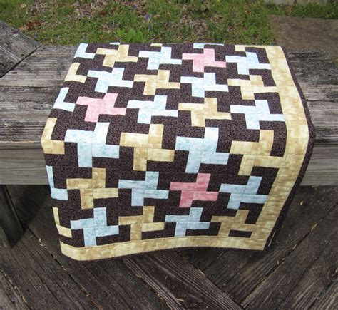 Square Patchwork Quilt - patchwork quilt houndstooth square quilt