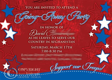 going away template going away flyer templates free invitations ideas