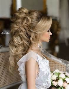 hairstyles for 50 wedding day 45 most romantic wedding hairstyles for long hair updo