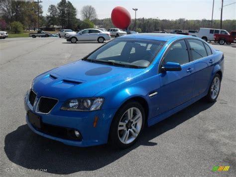 Pontiac Blue by 2009 Stryker Blue Metallic Pontiac G8 Sedan 47351107