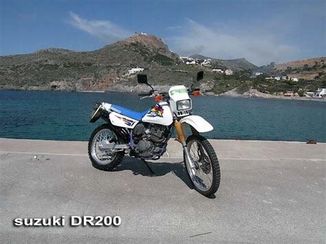 2001 Suzuki Dr200 Panayotis Rent A Car Motorent Kythira Greece
