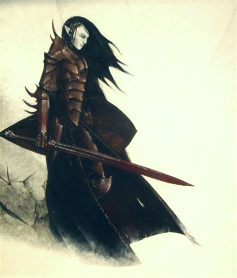 imagenes guerreros oscuros historias de elfos oscuros elfos