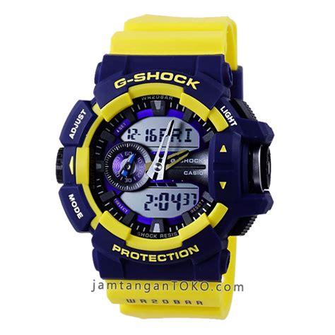 Jam G Shock Biru harga sarap jam tangan g shock ori bm ga 400 9b kuning biru