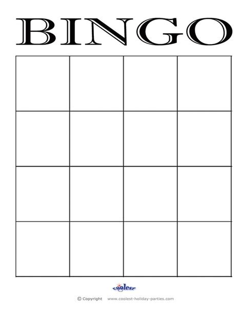 25 best ideas about bingo card template on pinterest