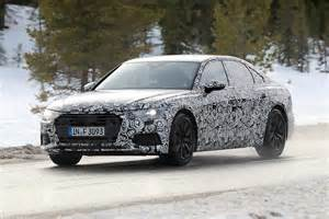 new 2018 audi a6 spyshots of audi s 5 series rival