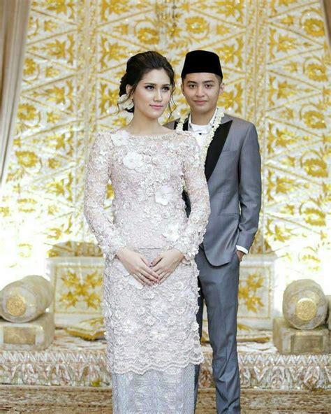 Baju Akad Nikah Berwarna 20 inspirasi model kebaya putih untuk akad nikah demi penilan yang anggun dan megah