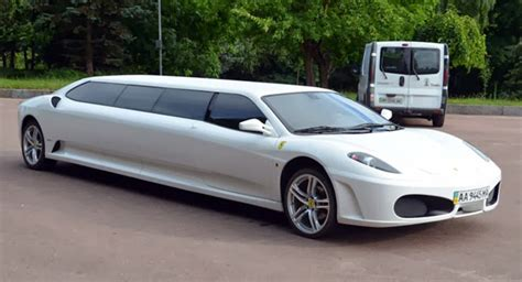 limousine ferrari a poor man s ferrari f430 stretch limousine w video
