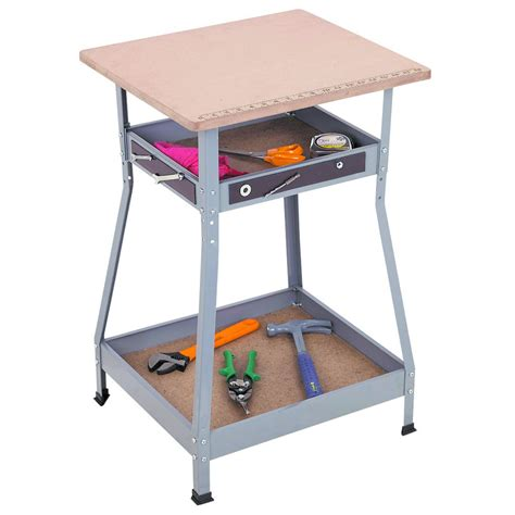harbor freight work table adjustable height heavy duty workstation
