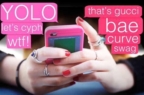 trendy teeen words a guide to cool teen slang