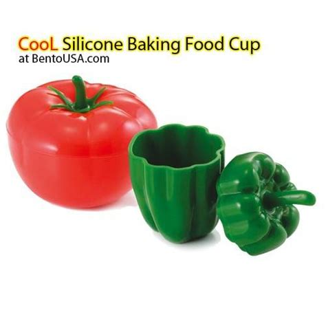 Silicon Die Cut Food Cup Tomica microwavable silicone baking food cup with lid for