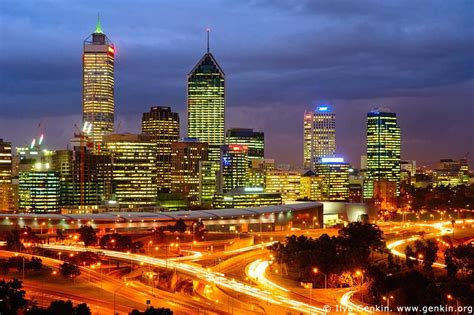 Perth Australia Address Finder Perth Cbd Image Landscape Photography Ilya Genkin