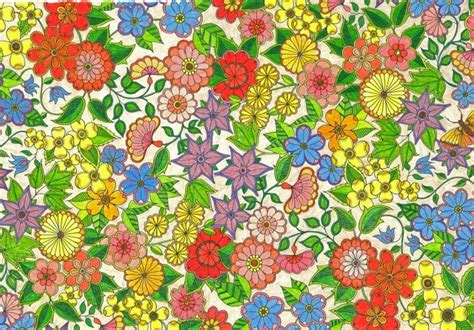 secret garden coloring book completed coloring books for adults