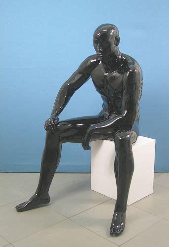 manichino seduto 3523 manichino seduto uomo muscolatura scolpita