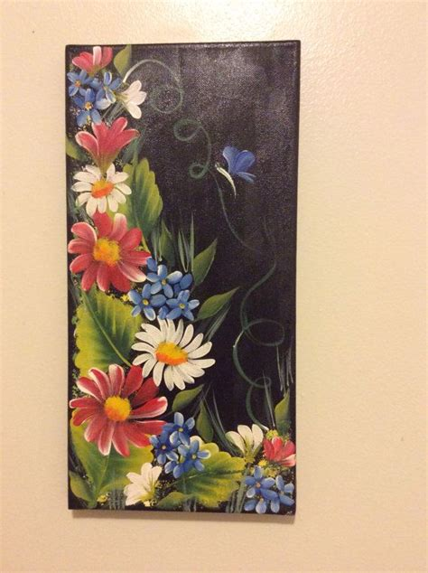 acrylic paint on black canvas 17 best ideas about black canvas paintings on