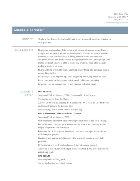 kennedy resume complete