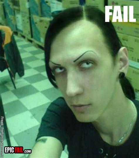 eyebrows fail epic fail com 1 source for epic fail