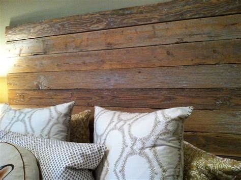 Distressed Wood Headboard Distressed Wood Headboard For The Home