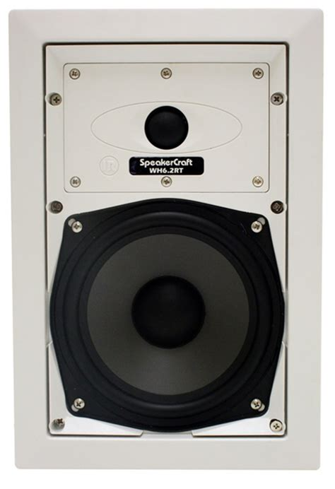 speakercraft 174 wh6 2rt whole house audio inwall speaker