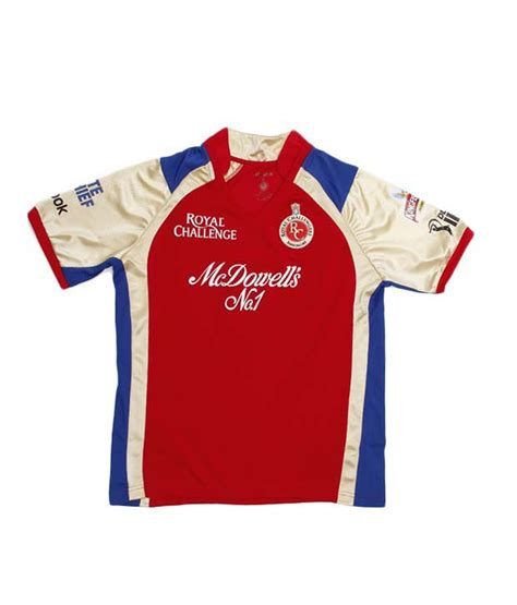 ipl 2016 tshirts buy ipl 9 rcb jersey online rcb 2016 merchandise on reebok ipl rcb red boys jersey for kids buy reebok ipl