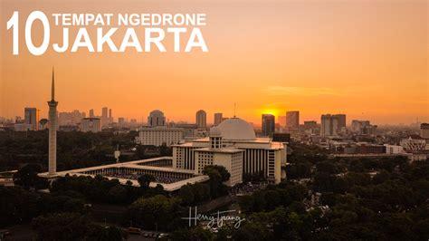 Tempat Ge 10 tempat menerbangkan drone di jakarta yang perlu kamu