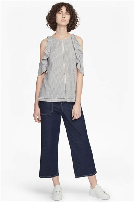 Phelfish Ruffled Cotton Top Anak new arrivals fashion from connection usa