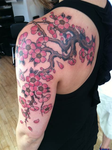 cherry blossom branch cover up brian paul tattoo