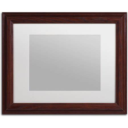 10 X 10 Wood Picture Frame W Mat by Trademark Heavy Duty 11x14 Wood Picture Frame