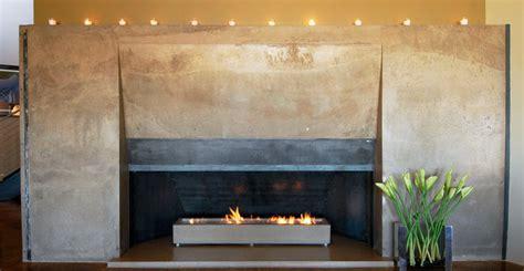 Concrete Fireplace by Architectural Concrete Interiors