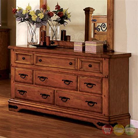American Oak Bedroom Furniture Sonoma Country American Oak Poster Bedroom Set With Rod