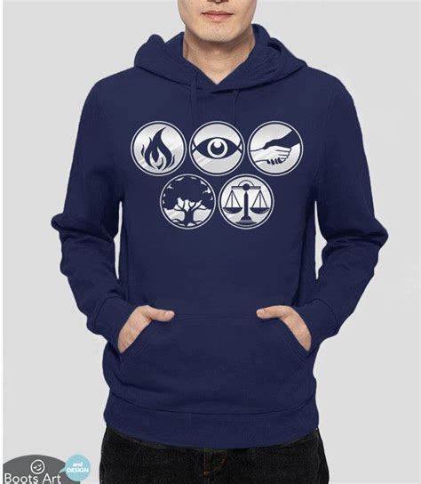 Hoodie Dota 2 Station Apparel divergent faction symbols sweatshirt divergent factions divergent and hoodie