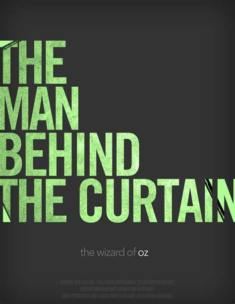 wizard of oz man behind the curtain quote pin by sierra plese on typography pinterest