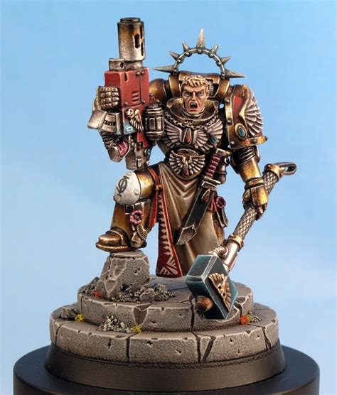 blood angels tycho conversion space marine 40k