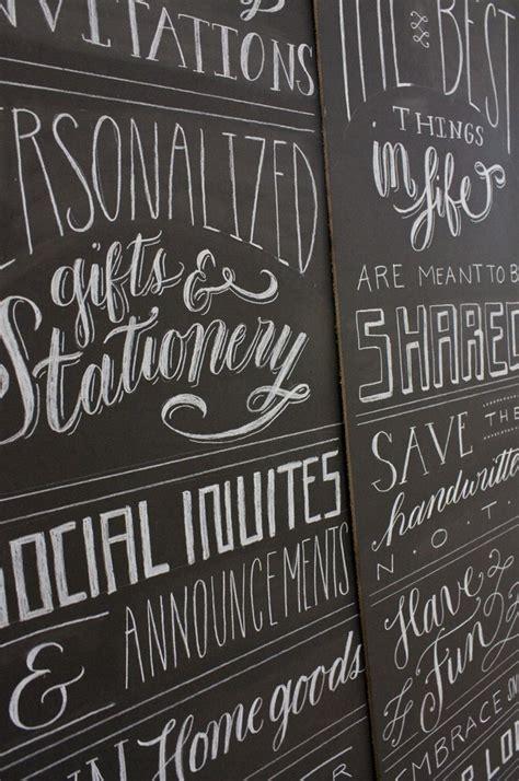 chalkboard paint lettering 17 best images about chalkboard type on